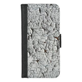 Capa Carteira Para iPhone 8/7 Textura de madeira
