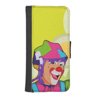 Capa Carteira Para iPhone SE/5/5s acrobata bonita