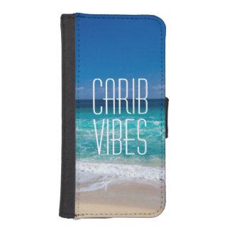 Capa Carteira Para iPhone SE/5/5s Água tropical de turquesa da praia das impressões