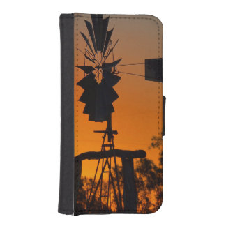 Capa Carteira Para iPhone SE/5/5s Caixa da carteira de IPhone 5/5s do por do sol do