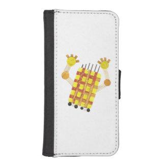 Capa Carteira Para iPhone SE/5/5s Caixa de patinagem da carteira de IPhone 5/5s do