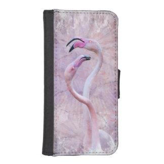 Capa Carteira Para iPhone SE/5/5s Carteira do iPhone do Flamenco (todos os modelos)