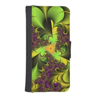 Capa Carteira Para iPhone SE/5/5s colore o fantasie