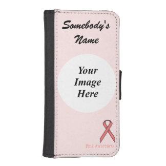 Capa Carteira Para iPhone SE/5/5s Fita padrão cor-de-rosa por Kenneth Yoncich