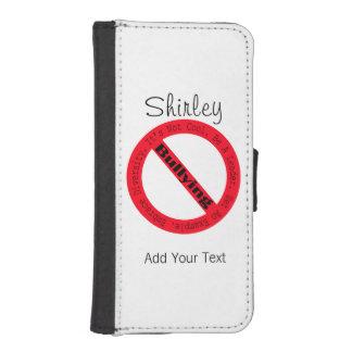 Capa Carteira Para iPhone SE/5/5s Pare o Tiranizar-Logotipo por Shirley Taylor