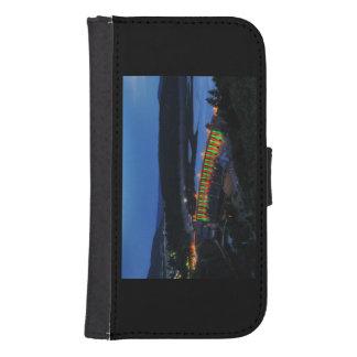 Capa Carteira Para Samsung Galaxy S4 Edersee Staumauer iluminado ao cair da tarde