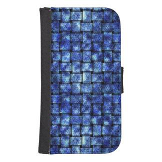 Capa Carteira Para Samsung Galaxy S4 Weave elétrico -