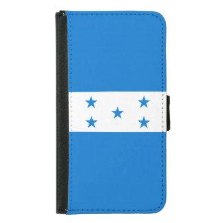 Capa Carteira Para Samsung Galaxy S5 Bandeira de Honduras