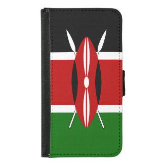 Capa Carteira Para Samsung Galaxy S5 Bandeira de Kenya