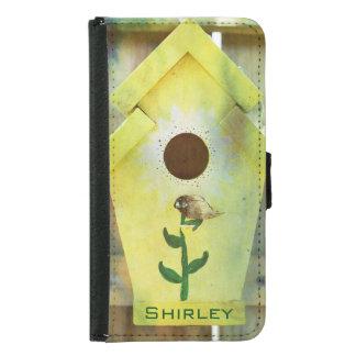 Capa Carteira Para Samsung Galaxy S5 Birdhouse por Shirley Taylor