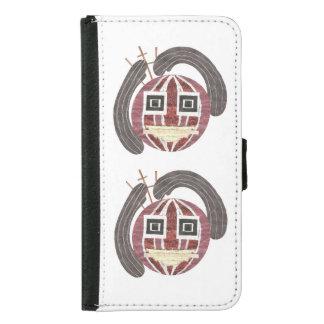 Capa Carteira Para Samsung Galaxy S5 Caixa da carteira do Sr. Bauble Samsung Galáxia S5