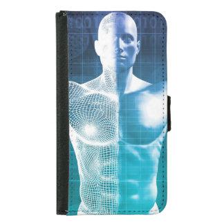 Capa Carteira Para Samsung Galaxy S5 Ciência médica