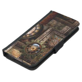 Capa Carteira Para Samsung Galaxy S5 Design maravilhoso do steampunk