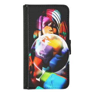 Capa Carteira Para Samsung Galaxy S5 Diversidade no local de trabalho ou no escritório