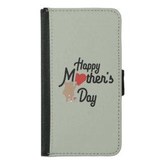 Capa Carteira Para Samsung Galaxy S5 Feliz dia das mães Zg6w3