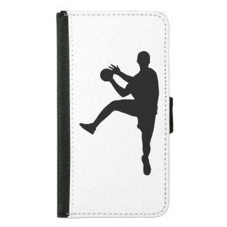 Capa Carteira Para Samsung Galaxy S5 Handball