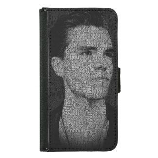 Capa Carteira Para Samsung Galaxy S5 Kaleo - não pode ir sobre sem você