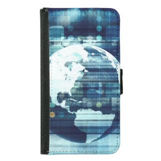 Capa Carteira Para Samsung Galaxy S5 Mundo de Digitas e indústria do estilo de vida da