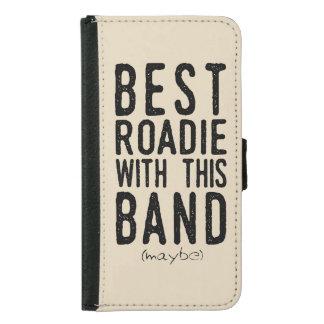 Capa Carteira Para Samsung Galaxy S5 O melhor Roadie (talvez) (preto)