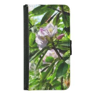 Capa Carteira Para Samsung Galaxy S5 Os rododendros estão na flor