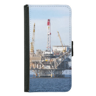 Capa Carteira Para Samsung Galaxy S5 Plataforma petrolífera