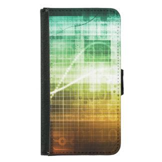 Capa Carteira Para Samsung Galaxy S5 Protecção de dados e exploração da segurança do