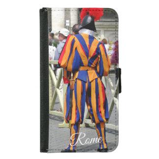 Capa Carteira Para Samsung Galaxy S5 Roma a colagem da cidade eterno