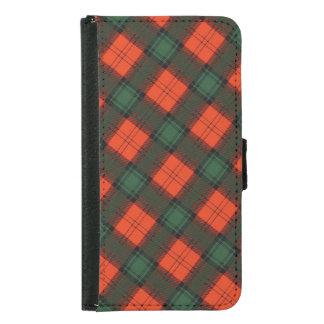 """Capa Carteira Para Samsung Galaxy S5 """"Stewart Tartan escocês do Kilt de Atholl"""""""