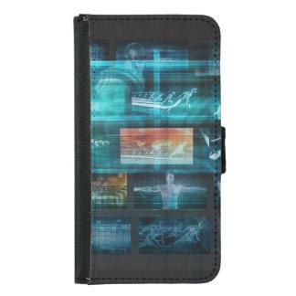 Capa Carteira Para Samsung Galaxy S5 Tecnologia da informação ou ELE Infotech como uma