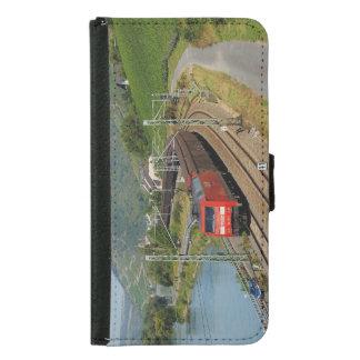 Capa Carteira Para Samsung Galaxy S5 Trem de carga em Lorch à reno