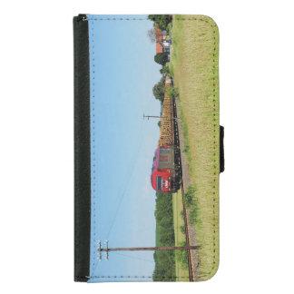 Capa Carteira Para Samsung Galaxy S5 Trem de carga em Simtshausen