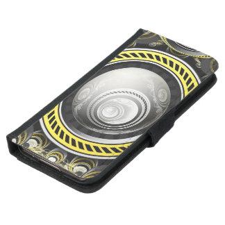 Capa Carteira Para Samsung Galaxy S5 Um bolo preventivo do Fractal cozido para GlaDOS