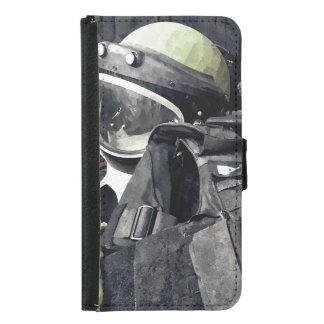 Capa Carteira Para Samsung Galaxy S5 Uniforme do esquadrão da morte