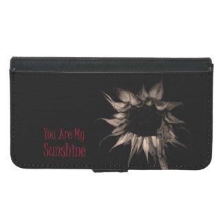 Capa Carteira Para Samsung Galaxy S5 Você é meu girassol que da luz do sol originais
