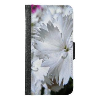 Capa Carteira Para Samsung Galaxy S6 Cravo-da-índia branco