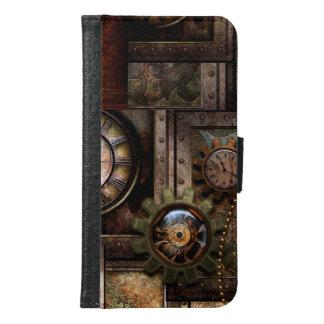 Capa Carteira Para Samsung Galaxy S6 Design maravilhoso do steampunk