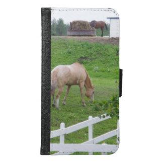 Capa Carteira Para Samsung Galaxy S6 Dois cavalos