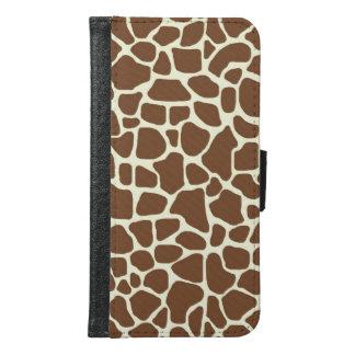 Capa Carteira Para Samsung Galaxy S6 Girafa