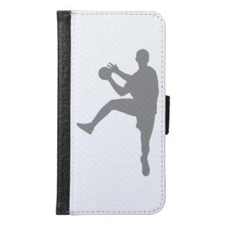 Capa Carteira Para Samsung Galaxy S6 Handball