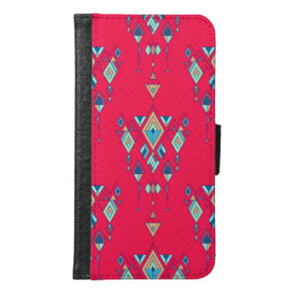 Capa Carteira Para Samsung Galaxy S6 Ornamento asteca tribal étnico do vintage