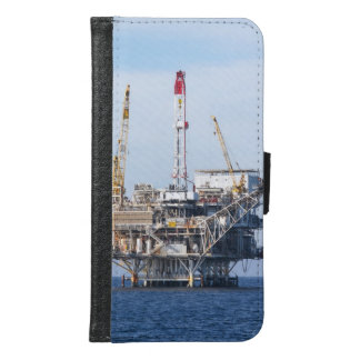 Capa Carteira Para Samsung Galaxy S6 Plataforma petrolífera
