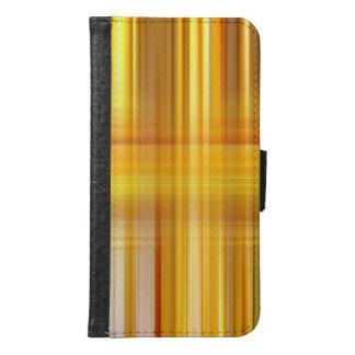 Capa Carteira Para Samsung Galaxy S6 Xadrez amarela