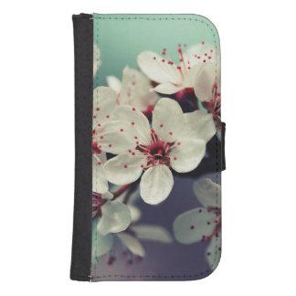 Capa Carteira Para Samsung S4 Flor de cerejeira cor-de-rosa, Cherryblossom,