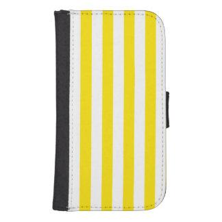Capa Carteira Para Samsung S4 Listras amarelas verticais