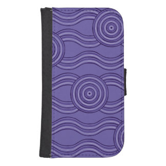Capa Carteira Para Samsung S4 Melaleuca aborígene da arte