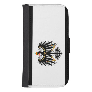 Capa Carteira Para Samsung S4 Reino Preussen estandarte de nacional