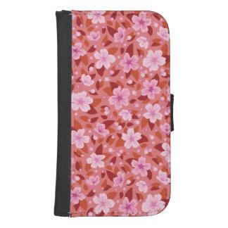 Capa Carteira Para Samsung S4 Sakura