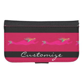 Capa Carteira Para Samsung S4 sereias subaquáticas cor-de-rosa Thunder_Cove