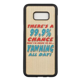 Capa Carved Para Samsung Galaxy S8+ 99,9% BOCEJAR O DIA INTEIRO (preto)
