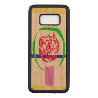 Capa Carved Para Samsung Galaxy S8 A vela e o relâmpago